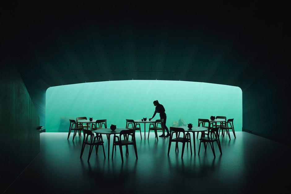 Under, el restaurante más grande debajo del mar