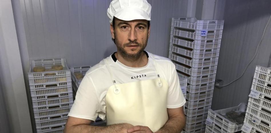 El quesero Jordi Arroyo